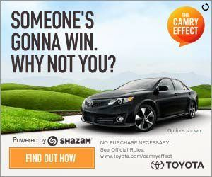 Camry Effect give away at Butler Toyota in Macon,GA