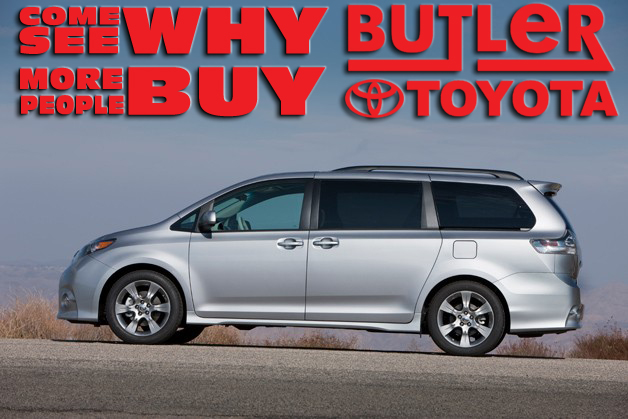 Butler Toyota has the Toyota Sienna
