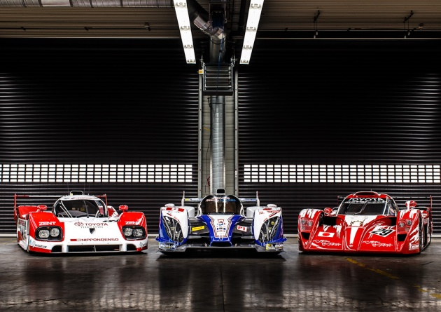 Toyotas at the Le Mans 24 Hours